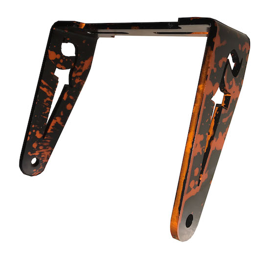 FRP Rear Seat Bracket camo orange & black