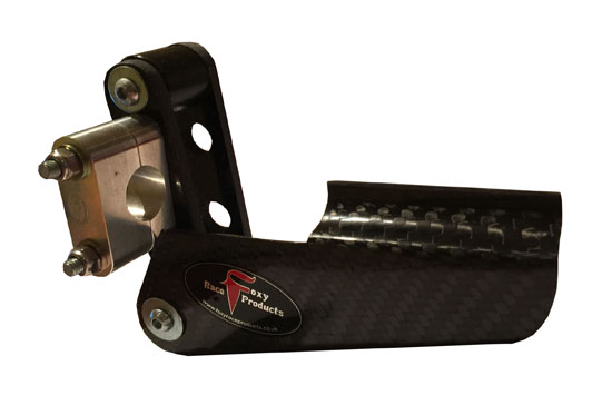 FRP chain guide carbon fibre