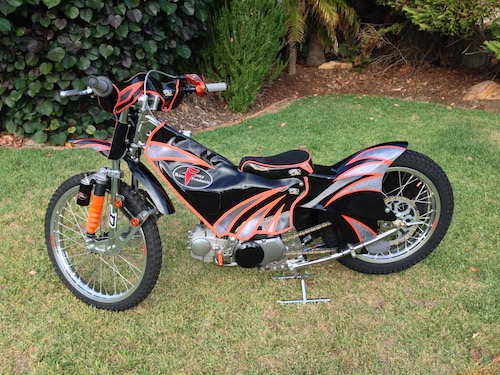 Junior speedway bike 125