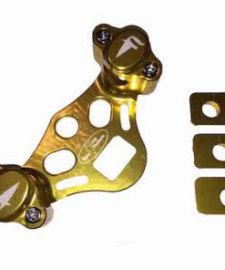 FRP adjustable handlebar clamps gold