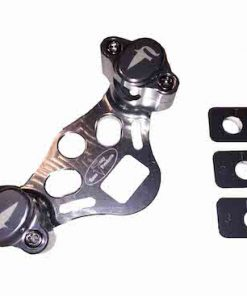 FRP adjustable handlebar clamps silver