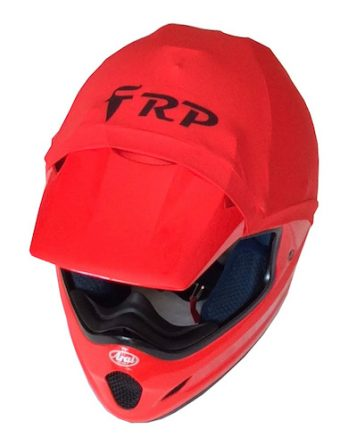 frp helmet colour red
