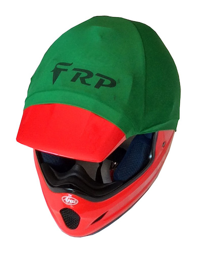 frp helmet colour green