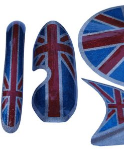 union jack mud guards retro
