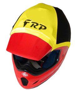 frp helmet colour yellow & black