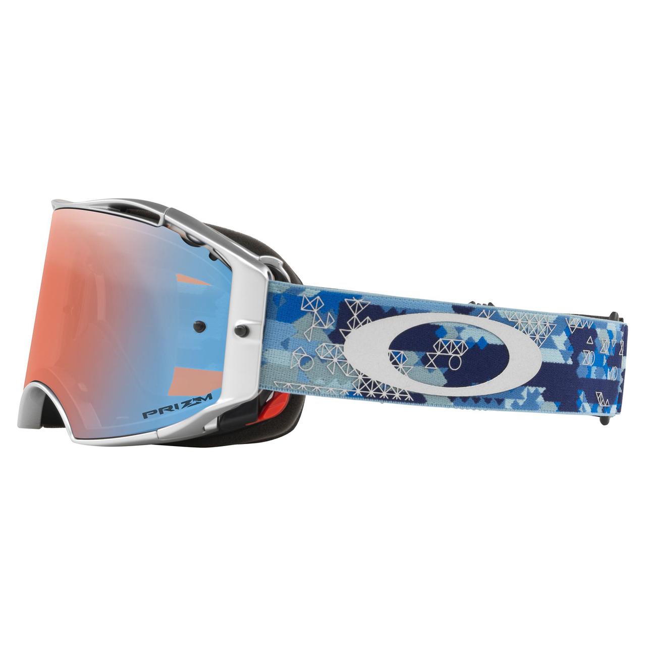 Oakley Airbrake Mx >> Oakley Airbrake Eli Tomac SS MX Goggle Adult (Military Digi Blue) Prizm Sapphire Irdium Lens ...