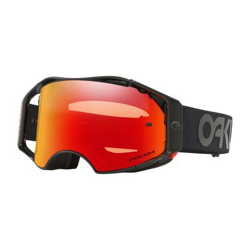 Oakley Airbrake Factory Pilot Collection MX Goggle (Blackout) Prizm Torch Iridum Lens