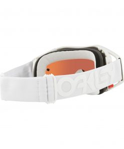 Oakley Airbrake Factory Pilot Collection MX Goggle (Whiteout) Prizm Sapphire Iridum Lens