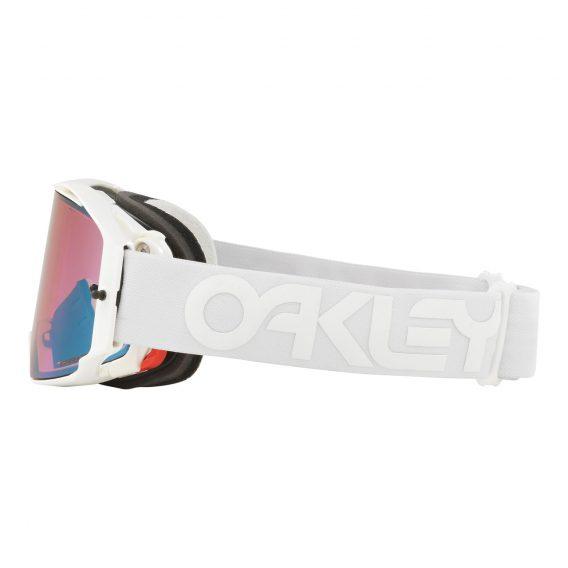 Oakley Airbrake Factory Pilot Collection MX Goggle (Whiteout) Prizm Sapphire Iridum Lens