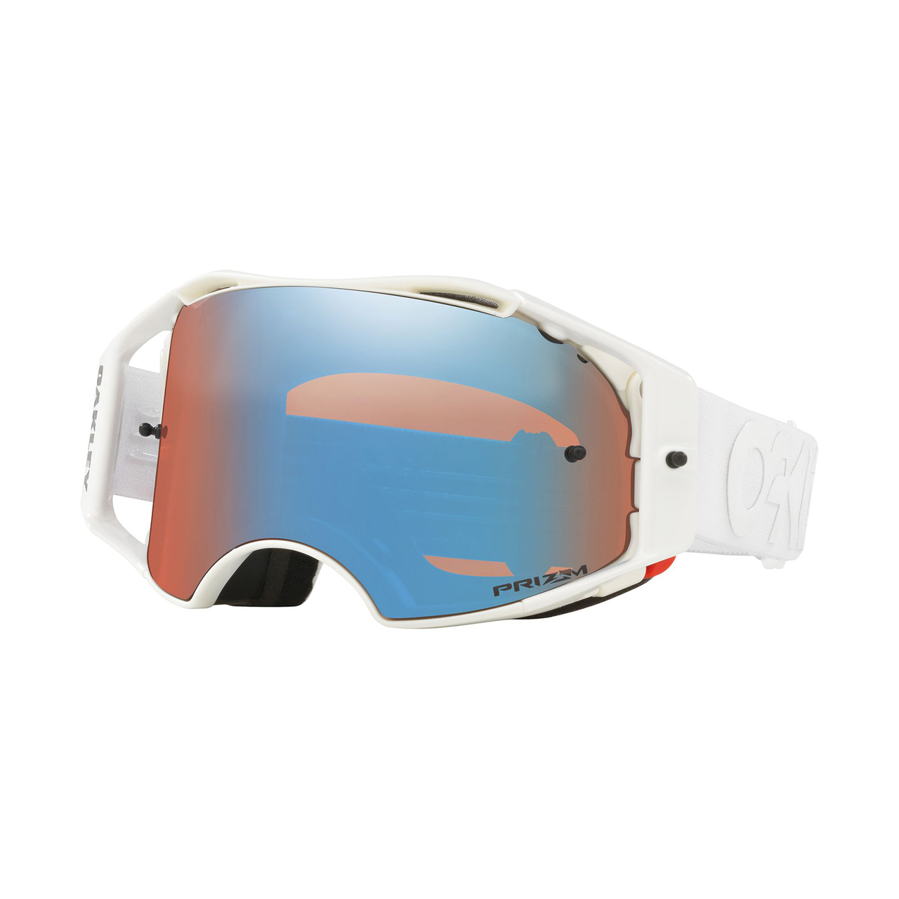 Oakley Airbrake Mx >> Oakley Airbrake Factory Pilot Collection MX Goggle (Whiteout) Prizm Sapphire Iridum Lens – FRP ...